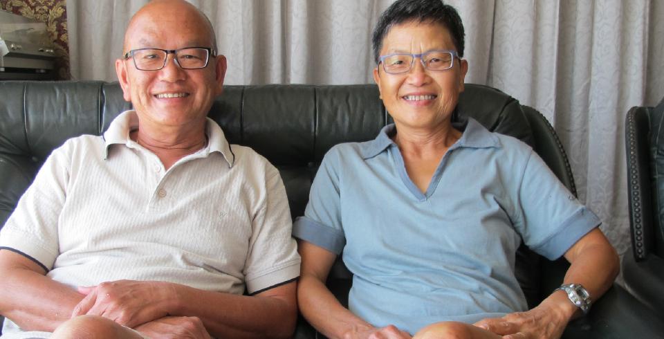 Stephen and Mae Wong