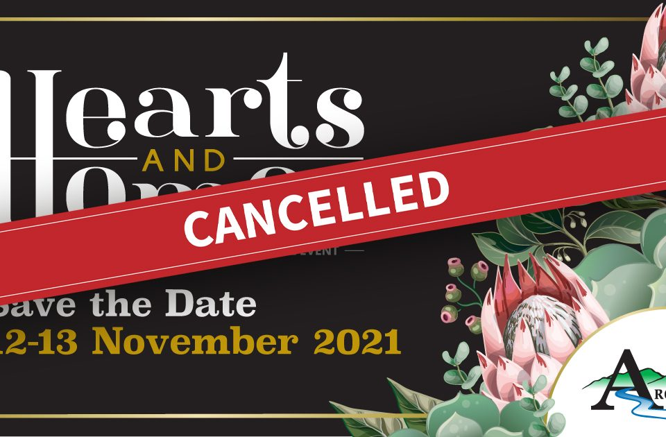 Hearts and Homes Cancelled
